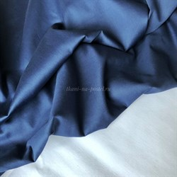 Мако-сатин Синий - фото 10168