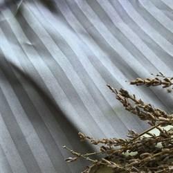 Страйп-сатин мерсеризованный дымчато-серый - фото 11646