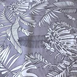 Ранфорс Тропик на серо-лиловом - фото 12862