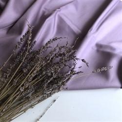 Сатин Пыльно-лиловый мерсеризованный (отрез 0.9 м) - фото 13725