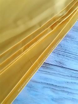 Поплин однотонный ярко-желтый - фото 6368