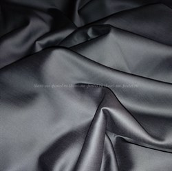 Сатин темно-серый мерсеризованный - фото 6426