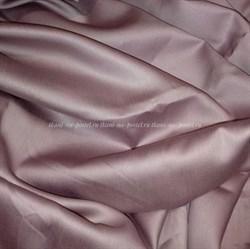 Сатин пыльная лаванда мерсеризованный - фото 6438