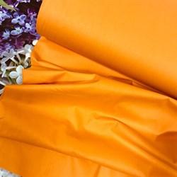 Поплин однотонный оранжевый - фото 7159