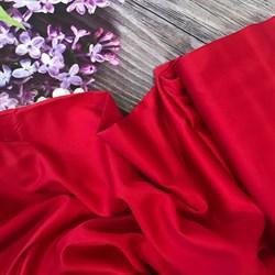 Сатин красный мерсеризованный - фото 7169
