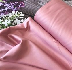 Сатин сухая роза мерсеризованный - фото 7205