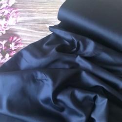 Сатин темно-синий мерсеризованный - фото 7299