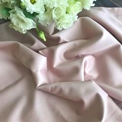 Сатин бежево-розовый мерсеризованный - фото 7310