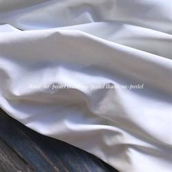 Сатин белый премиум 280см - фото 7868