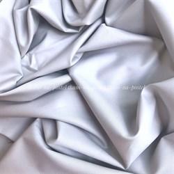 Сатин серебристо-серый - фото 7955
