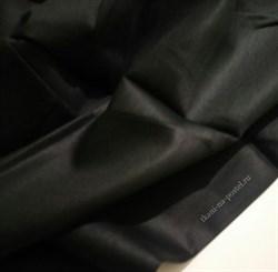 Сатин черный премиум - фото 8034