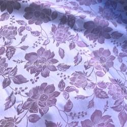 Жаккард Цветение черника двухсторонний - фото 8080