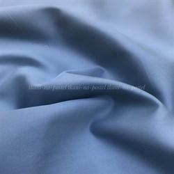 Сатин серо-голубой мерсеризованный - фото 8158
