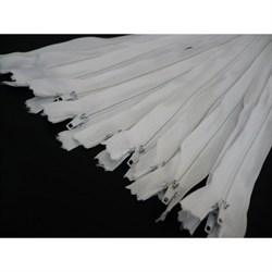 Молния №3 белая 40 см - фото 8445