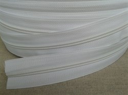 Молния рулонная №3 белая - фото 8447