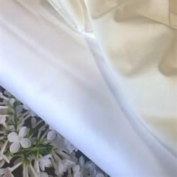 Сатин белый и молочный мерсеризованные