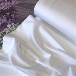Сатин белый мерсеризованный 280 см - фото 9216