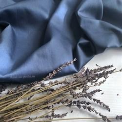Сатин джинсовый мерсеризованный - фото 9356