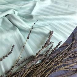 Страйп-сатин мерсеризованный мятный - фото 9395