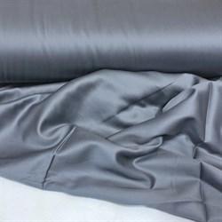 Сатин стальной серый мерсеризованный - фото 9414