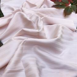 Страйп-сатин мерсеризованный чайная роза (Турция) - фото 9473