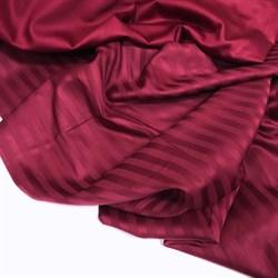 Страйп-сатин мерсеризованный бордо - фото 9537