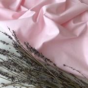 Поплин однотонный розовый