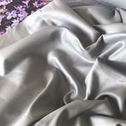 Сатин серый мерсеризованный (отрез 1м)