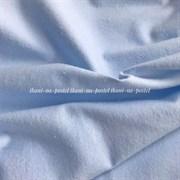 Фланель однотонная светло-голубая (отрез 1,72 м)