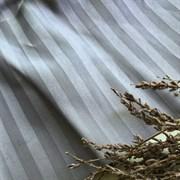 Страйп-сатин мерсеризованный дымчато-серый