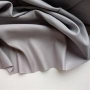 Сатин серый мерсеризованный (отрез 1,65 м)