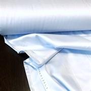 Сатин светло-голубой мерсеризованный (отрез 2,48м)