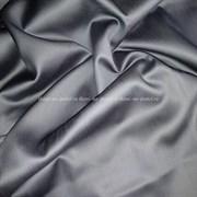 Сатин темно-серый мерсеризованный (отрез 0,75 м)