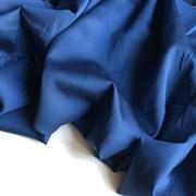 Тенсель с хлопком синий