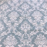 Фланель Дамаск голубой (отрез 2,4 м)