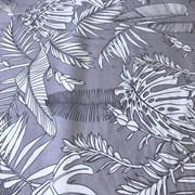 Ранфорс Тропик на серо-лиловом