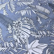 Ранфорс Тропик на голубом
