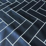 Ранфорс Геометрия на черном