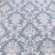 Фланель Дамаск голубой (отрез 0.59 м)
