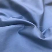Сатин серо-голубой мерсеризованный (отрез 1.5 м)