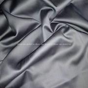 Сатин темно-серый мерсеризованный (отрез 1.25 м)