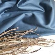 Сатин светлый джинс мерсеризованный (отрез 2.4 м)