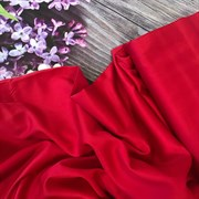 Сатин красный мерсеризованный  (отрез 2.7 м)