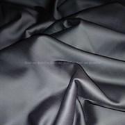 Сатин темно-серый мерсеризованный
