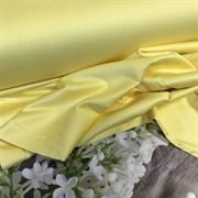 Сатин желтый мерсеризованный