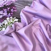 Сатин светло-лиловый мерсеризованный