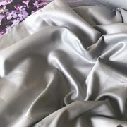 Сатин серый мерсеризованный