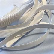 Резинка вязаная 15 мм, белая