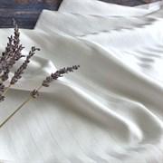 Страйп-сатин мерсеризованный белый