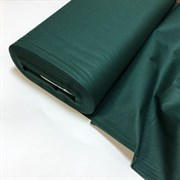 Поплин однотонный Темно-зеленый